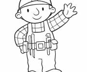 Coloring pages Bob the builder to print for free