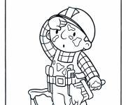 Coloring pages Bob the tired handyman