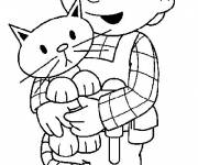 Coloring pages Drawing of  Bob the builder