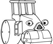 Coloring pages Roulo Bob the builder