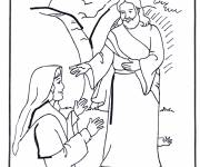Coloring pages Biblical jesus