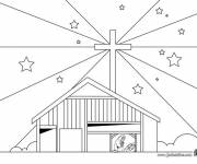 Coloring pages Christian church
