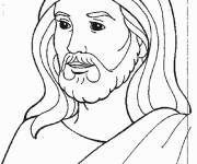 Coloring pages Easy jesus