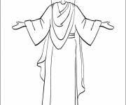 Free coloring and drawings Jesus coloring Coloring page