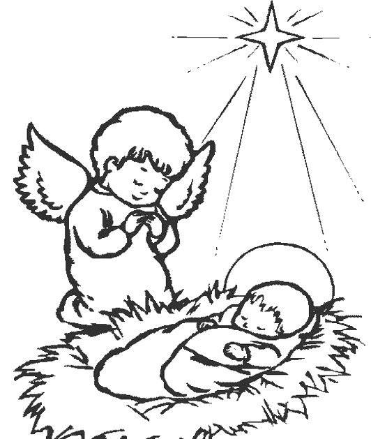 Free coloring and drawings Jesus eating Coloring page