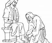 Coloring pages Jesus of Nazareth The Lord