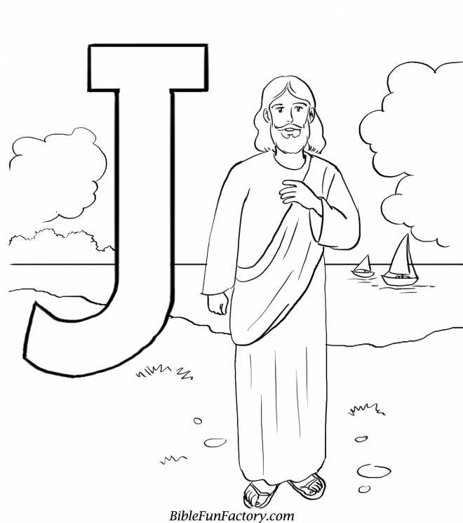 Free coloring and drawings Landscape of jesus christ Coloring page