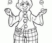 Coloring pages Coloring juggler