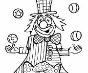 Coloring pages Comic juggler