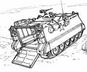 Coloring pages All-field vehicle