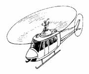 Coloring pages Color helicopter