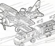 Coloring pages Lego military