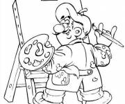 Coloring pages Online painter
