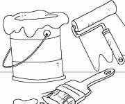 Coloring pages Painter tools