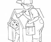 Coloring pages The Little DIY Boy