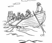 Coloring pages Canoe and Pirates maternal