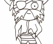 Coloring pages Color pirate
