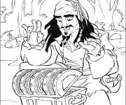 Coloring pages Jack and the Pirates