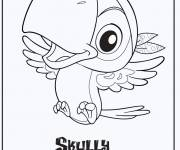 Coloring pages Jack and the Skully Pirates