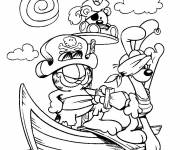 Coloring pages Pirate animals