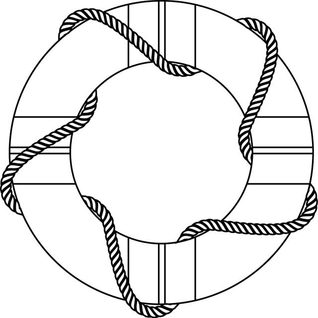 Free coloring and drawings Rescue wheel Coloring page