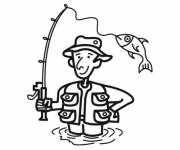 Coloring pages Angler