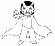 Coloring pages Child Vampire