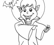 Coloring pages Vampire drawing free