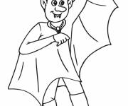Coloring pages Vampire online