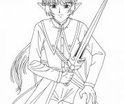 Coloring pages Mew Mew Power Warrior