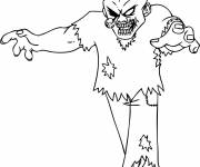 Coloring pages Adult drawing zombie
