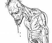 Coloring pages Zombie online