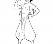 Coloring pages Aladdin