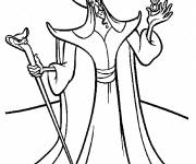 Coloring pages Jafar drawing
