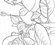 Coloring pages Alice in Wonderland charming