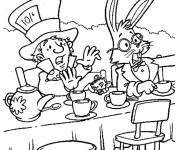 Coloring pages The mad hatter