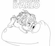 Free coloring and drawings Arlo's journey Coloring page