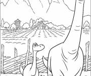 Coloring pages Henry the father of Arlo