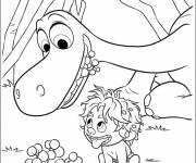 Free coloring and drawings Spot finds fruit for Arlo Coloring page
