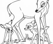 Coloring pages Geno, Gurri and Faline