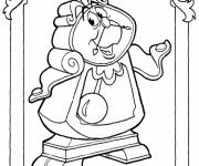 Coloring pages Beauty and the Beast Big Ben
