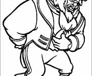 Coloring pages Beauty and the Beast walt disney