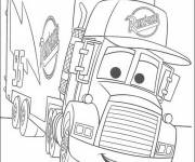 Free coloring and drawings Cars cartoons Coloring page