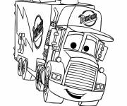 Coloring pages Mack truck coloring