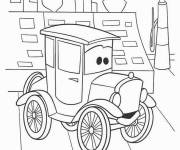 Free coloring and drawings Cars Disney cartoons Coloring page