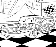 Free coloring and drawings Cars Greg Candyman Coloring page