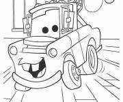 Coloring pages Guido the tug