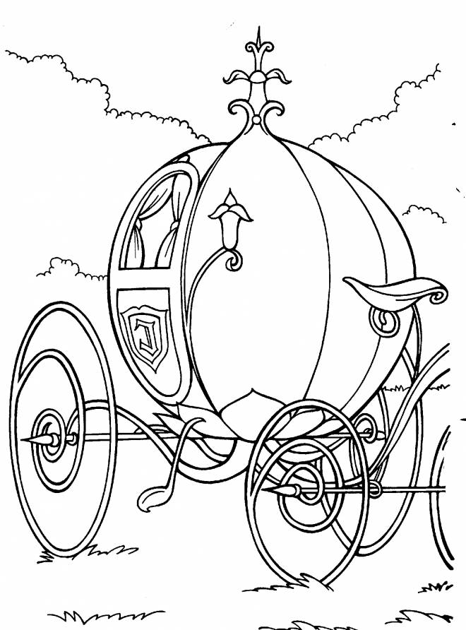 Free printable Cinderella coloring pages liste 20 à 40