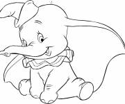 Coloring pages Little Dumbo