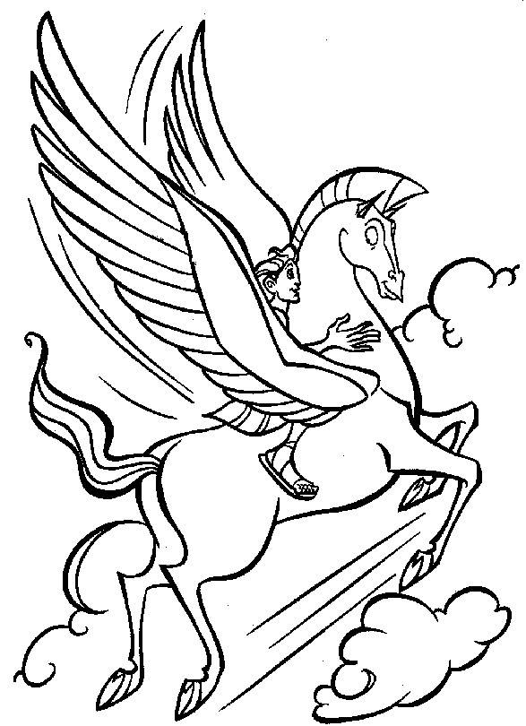 free printable hercules coloring pages